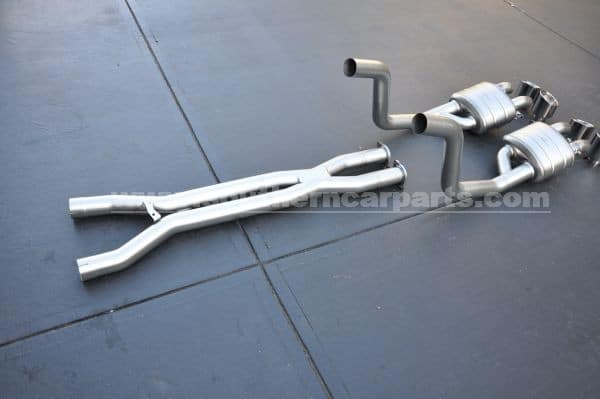 Akrapovic Corvette EVO exhaust